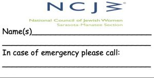 decal - in case of emergency please call